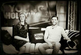"Deborah Ann Woll - Twitter Picture from the ""Young Hollywood"" Studio - June 5, 2012 (x1)"