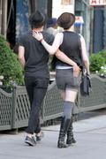 Evan Rachel Wood - out and about in Manhattan 01-07-2011 (assshot)