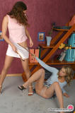 fight over pantyhose