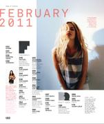 Georgia May Jagger - Nylon - Feb 2011 (x5)