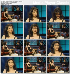 Julia Campbell on The Jon Stewart Show in 1994