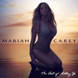 "Mariah Carey - ""The Art of Letting Go"", single cover"