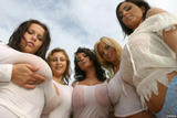 Anna Jota, Ewa Sonnet, Ines Cudna, Bea Flora, Aneta Buena - Wet T-Shirt Pic 63