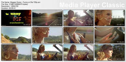 Maggie Grace - Driving A Car & Eating A Banana 720p
